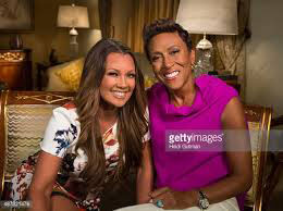 Vanessa Williams & Robin Roberts. (Getty Images)